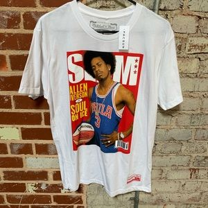 Mitchell and Ness Allen Iverson tee